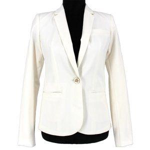 NWT Versace Silk Womens Medusa Button Blazer 38